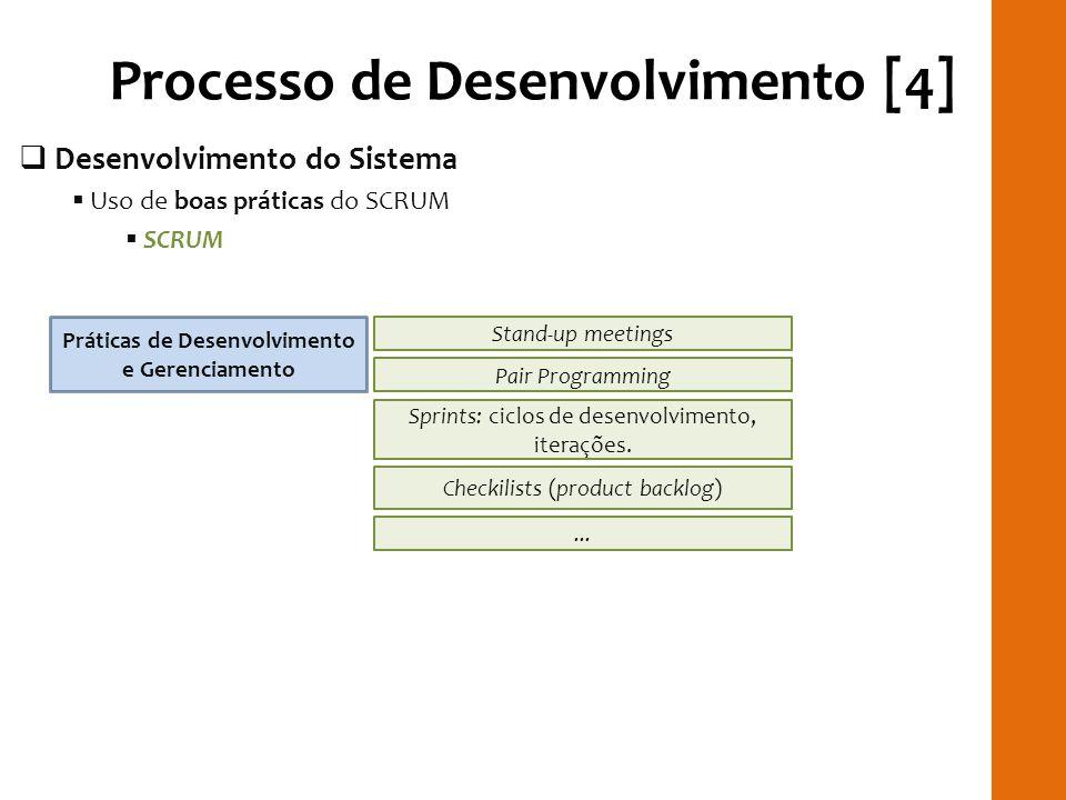 Processo de Desenvolvimento [4]